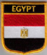 Egypt Embroidered Flag Patch, style 07.